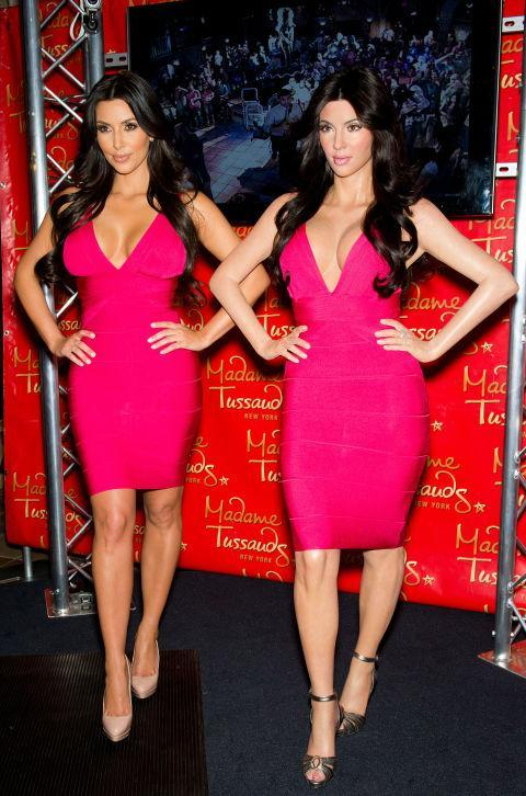 <p>Madame Tussauds, London, intended Kim K but instead seemingly ended up with Kate Beckinsale. Copyright: [Wenn] </p>