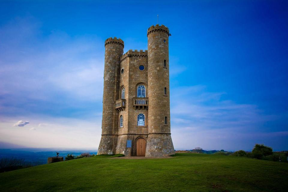 """<p>Not all castles have to be enormous. Take <a href=""""https://broadwaytower.co.uk/history/"""" rel=""""nofollow noopener"""" target=""""_blank"""" data-ylk=""""slk:Broadway Tower"""" class=""""link rapid-noclick-resp"""">Broadway Tower</a> in Worcestershire, for example. Even though it looks small in size, it's actually the second-highest point in the Cotswolds region. So there.</p>"""