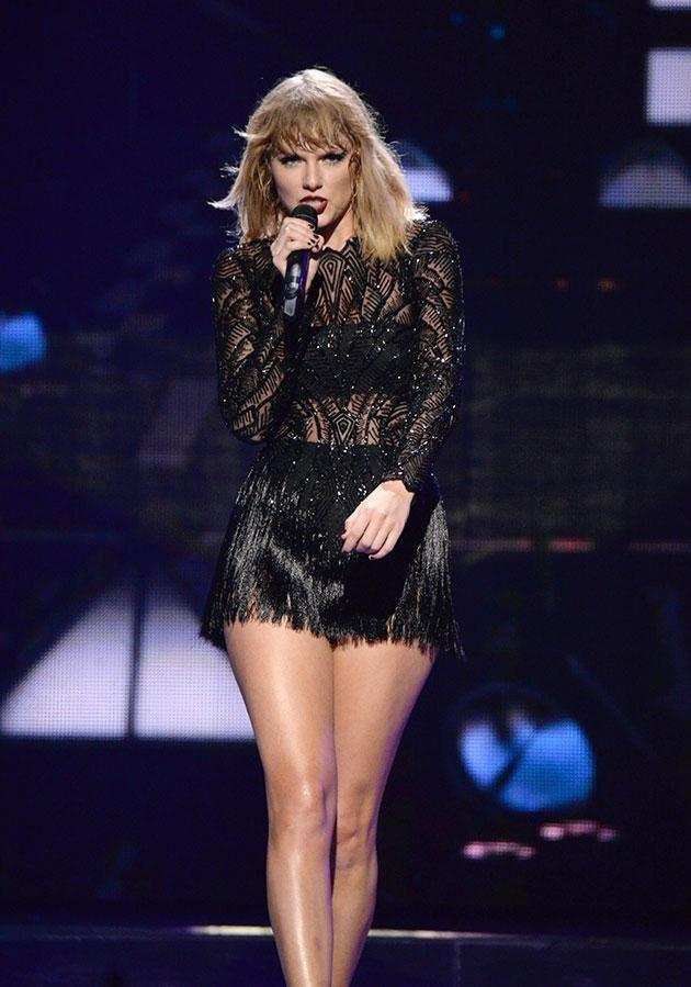 Taylor has returned to social media... kinda. Source: Getty