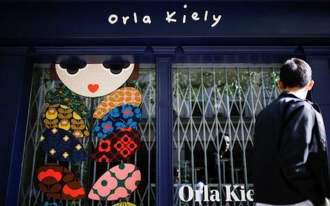 <span>Orla Kiely's central London store</span> <span>Credit: Reuters </span>
