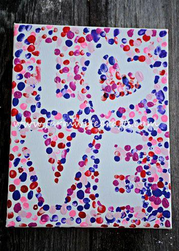 "<p>Kids of all ages will love this craft that lets them get their hands messy to create a work of art.</p><p><strong>Get the tutorial at <a href=""https://www.farmwifecrafts.com/valentines-day-fingerprint-love-canvas/"" rel=""nofollow noopener"" target=""_blank"" data-ylk=""slk:The Farmwife Crafts"" class=""link rapid-noclick-resp"">The Farmwife Crafts</a>.</strong></p><p><strong><a class=""link rapid-noclick-resp"" href=""https://www.amazon.com/CONDA-Canvas-Panels-Artist-Quality/dp/B01JLTDCYG/?tag=syn-yahoo-20&ascsubtag=%5Bartid%7C10050.g.1584%5Bsrc%7Cyahoo-us"" rel=""nofollow noopener"" target=""_blank"" data-ylk=""slk:SHOP CANVASES"">SHOP CANVASES</a><br></strong></p>"