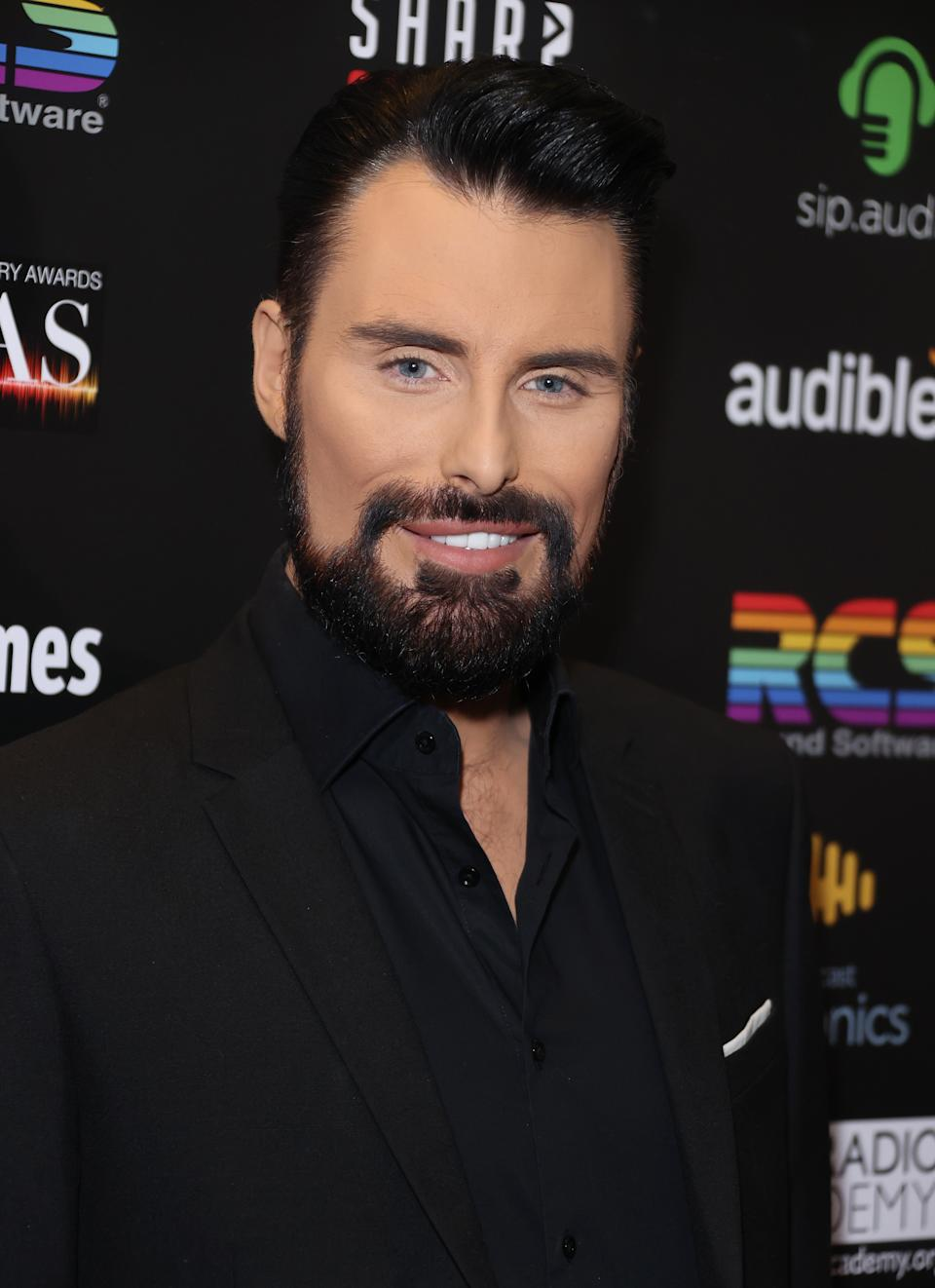 LONDON, ENGLAND - MARCH 04: Rylan Clark-Neal attends the Audio Radio & Industry Awards 2020 at London Palladium on March 04, 2020 in London, England. (Photo by Mike Marsland/WireImage)