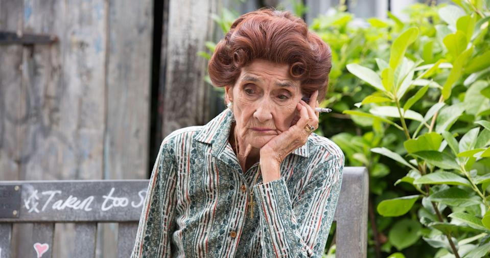 Will EastEnders legend Dot Cotton be OK? (BBC Pictures)