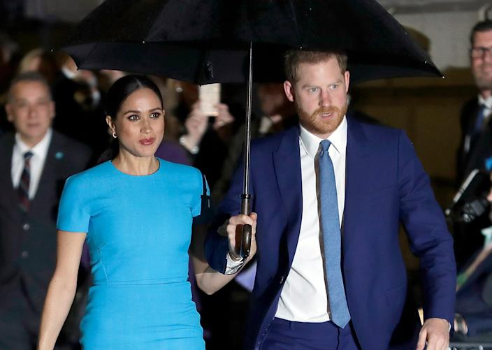 AP meghan markle and prince harry