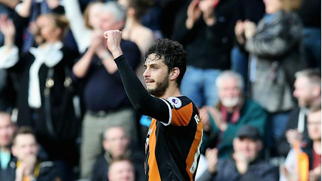 Andrea Ranocchia's first Hull City goal condemned West Ham to a fourth straight defeat as Marco Silva's side secured a dramatic 2-1 victory.