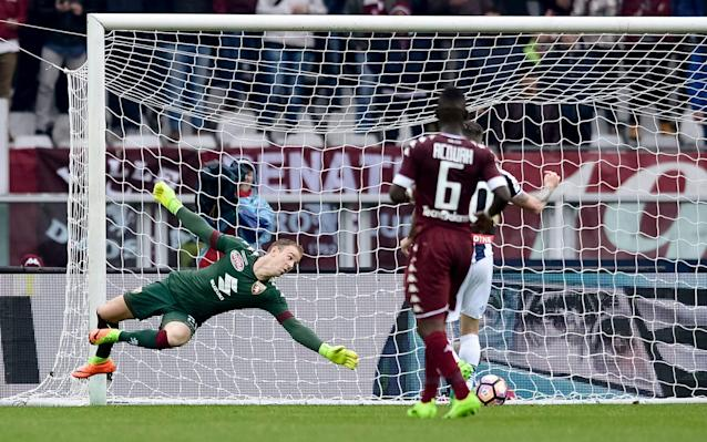 <span>Joe Hart is currently playing for Torino</span> <span>Credit: GETTY IMAGES </span>