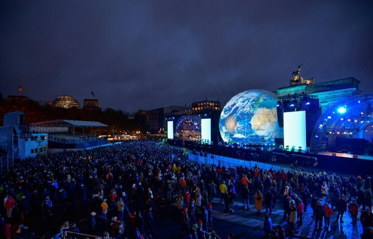 Across the German capital, there were commemoration ceremonies, special exhibitions and shows to mark the anniversary