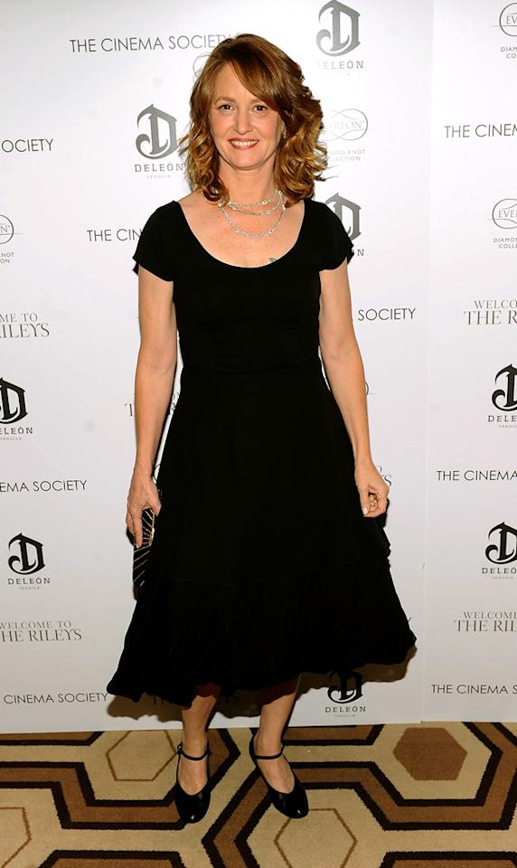"""<a href=""""http://movies.yahoo.com/movie/contributor/1800357233"""">Melissa Leo</a> attends the New York Cinema Society screening of <a href=""""http://movies.yahoo.com/movie/1810025267/info"""">Welcome to the Rileys</a> on October 18, 2010."""