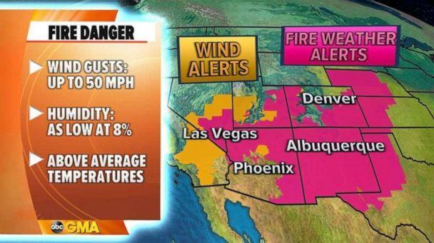 PHOTO: As we get towards the end of April and into May, climatologically, the number of severe threats are expected to increase.   (ABC News)