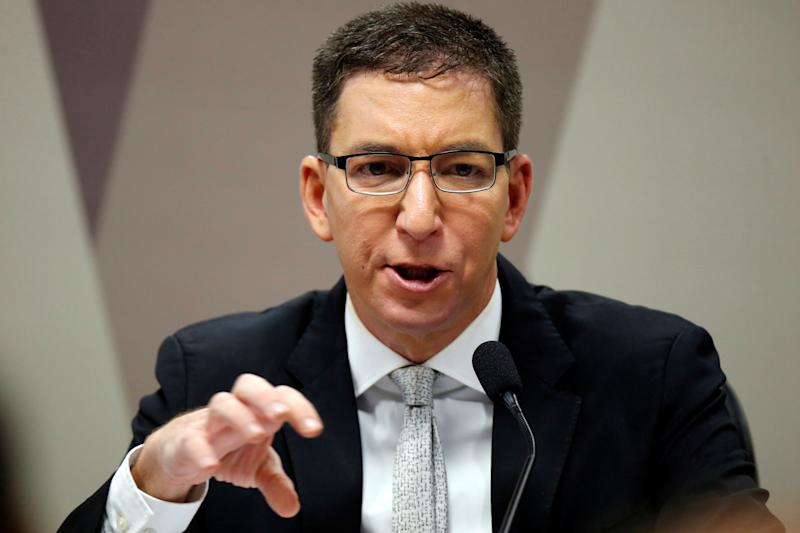 O jornalista Glenn Greenwald, do site The Intercpet. Foto: Adriano Machado/Reuters