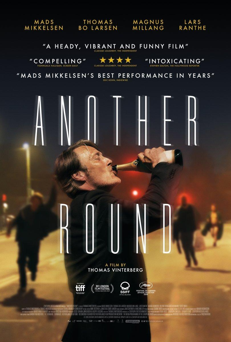 The UK poster for Another Round (Studiocanal)