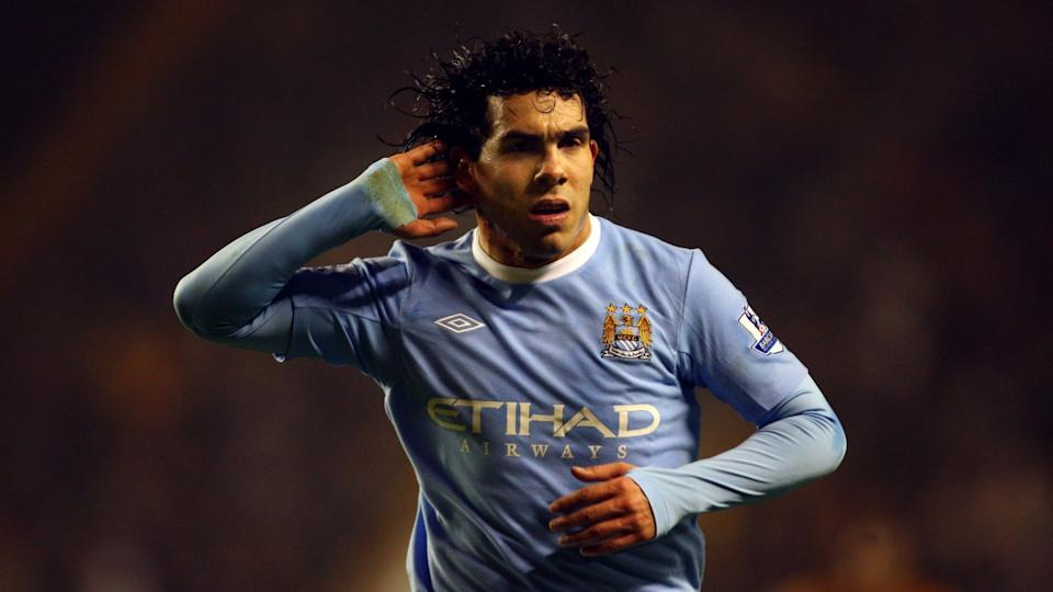 Carlos Tevez | Stu Forster/Getty Images