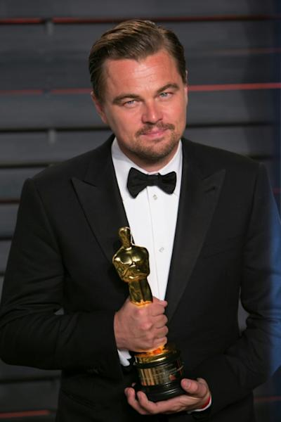 "Leonardo DiCaprio finally won the Oscar for Best Actor in 2016 for his work on ""The Revenant"""
