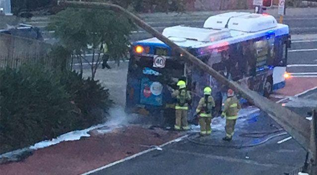 No one was injured in the fire. Source: Supplied