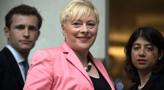 Angela Eagle has formally launched her bid to oust Labour leader Jeremy Corben. Photo: Getty Images