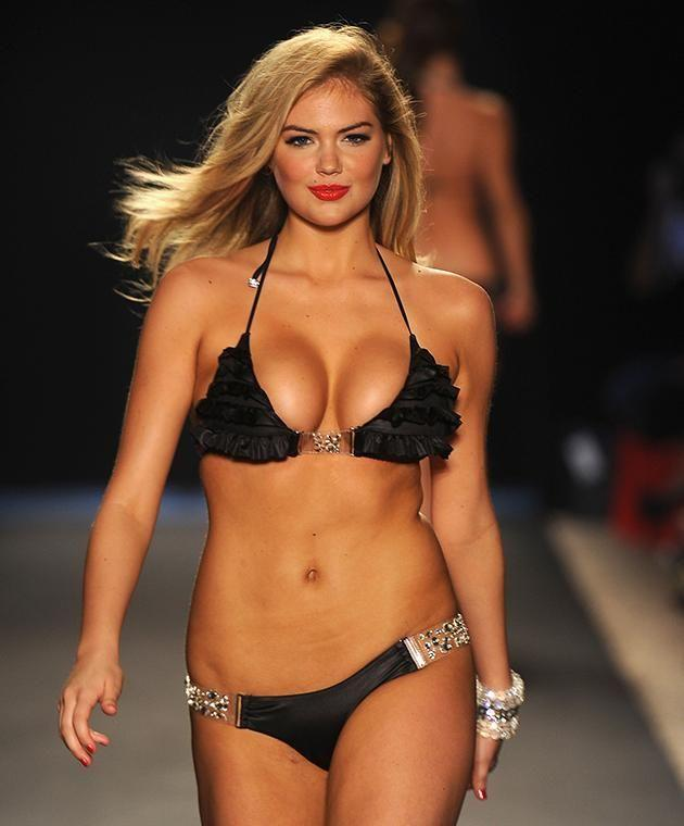 Kate Upton at the the Beach Bunny Swimwear show in 2011.