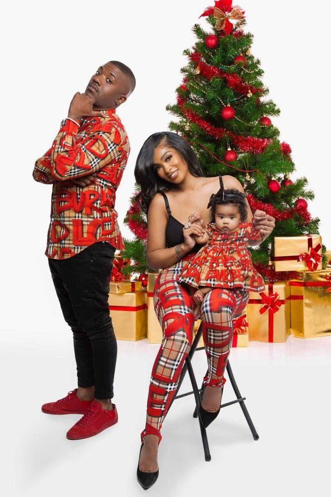 Ray J's holiday card