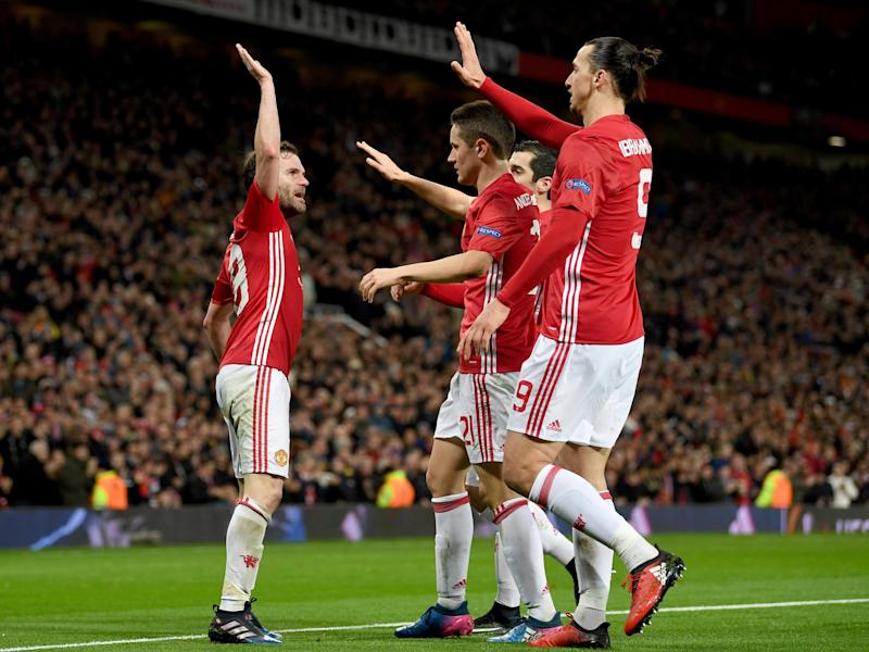 Juan Mata's goal saw United through: Getty
