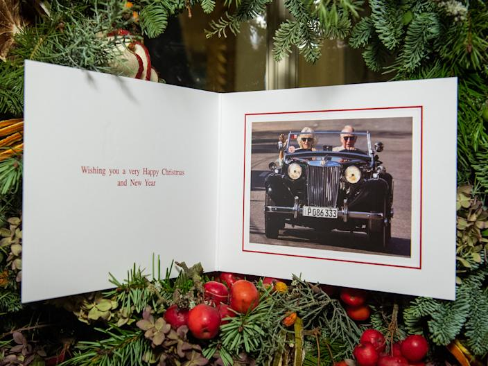 Prince Charles and Camilla Christmas Card 2019