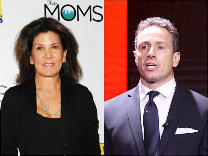 Shelley Ross and Chris Cuomo