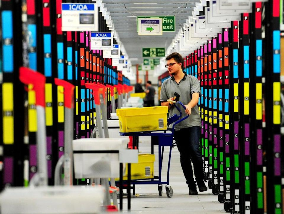Demand for online shopping soared during the pandemic (Nick Ansell/PA) (PA Wire)