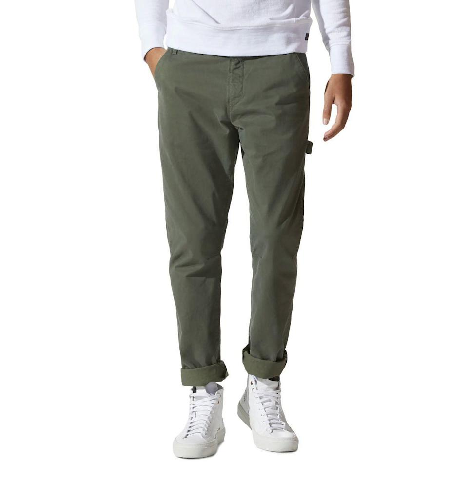 """<p><strong>Good Man Brand</strong></p><p>nordstrom.com</p><p><strong>$168.00</strong></p><p><a href=""""https://go.redirectingat.com?id=74968X1596630&url=https%3A%2F%2Fwww.nordstrom.com%2Fs%2Fgood-man-brand-pro-stretch-twill-skate-utility-pants%2F5902714&sref=https%3A%2F%2Fwww.esquire.com%2Flifestyle%2Fg23013003%2Fbest-gifts-for-husband-ideas%2F"""" rel=""""nofollow noopener"""" target=""""_blank"""" data-ylk=""""slk:Buy"""" class=""""link rapid-noclick-resp"""">Buy</a></p><p>Head him off at the cargo pant pass with Good Man Brand's decidedly more stylish take on utility wear, which is inspired by laid-back skate style. </p>"""