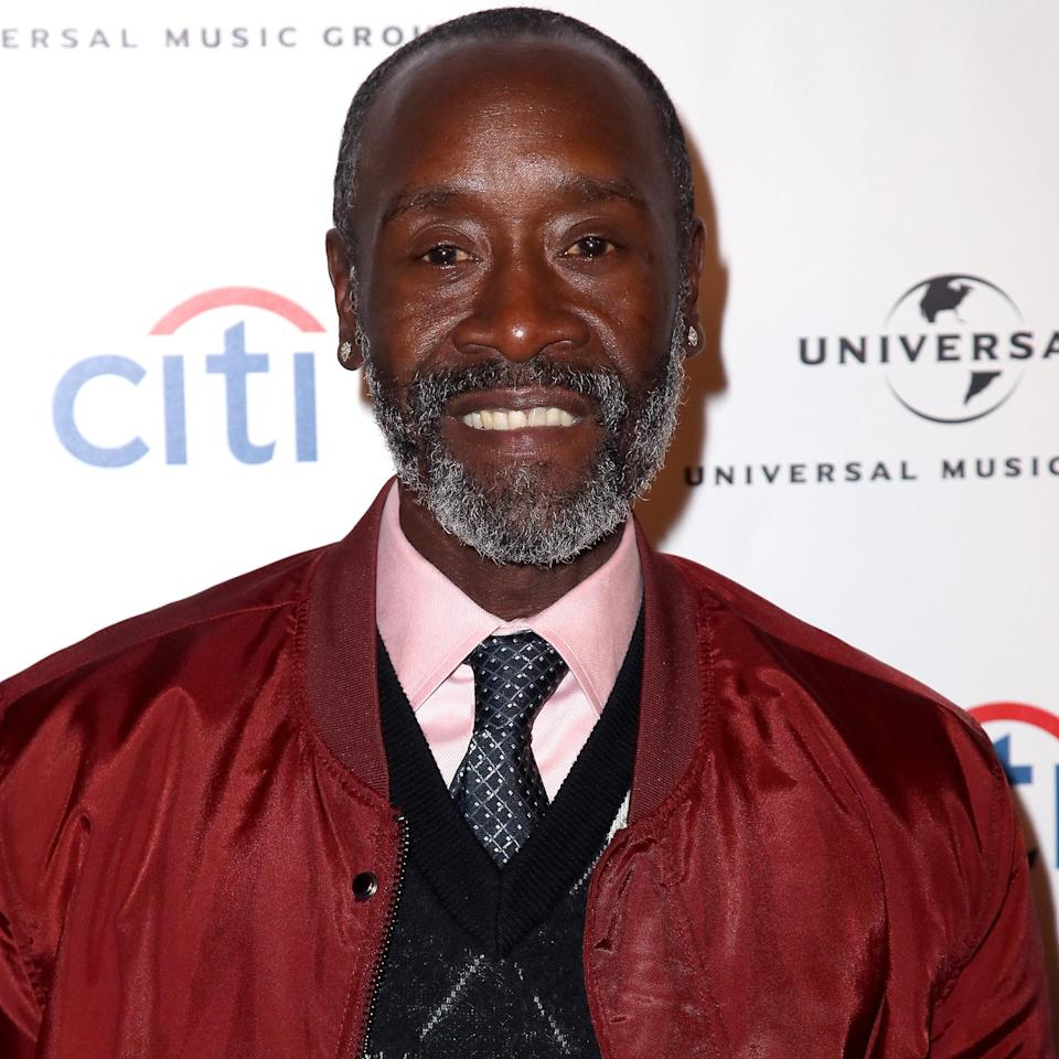 "<p>Cheadle is a UN Environment Programme Global Goodwill Ambassador, and as a correspondent on <em><a href=""https://theyearsproject.com/correspondent/don-cheadle/"" rel=""nofollow noopener"" target=""_blank"" data-ylk=""slk:Years of Living Dangerously"" class=""link rapid-noclick-resp"">Years of Living Dangerously</a>, </em>he traveled to California's Central Valley region to report on climate change and its impact on droughts in the area. </p> <p>""I am surprised environment is not at the top of the agenda,"" <a href=""https://www.unep.org/people/don-cheadle"" rel=""nofollow noopener"" target=""_blank"" data-ylk=""slk:reads his quote on his UN page"" class=""link rapid-noclick-resp"">reads his quote on his UN page</a>. ""What is more important than food and clean air? We need a big push.""</p>"