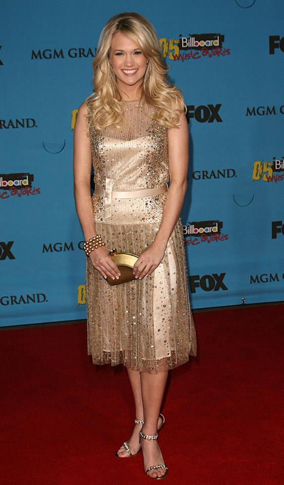 """Carrie Underwood, nominee for Hot 100 Single of the Year for """"Inside Your Heaven"""" (Photo by Jason Merritt/FilmMagic)"""