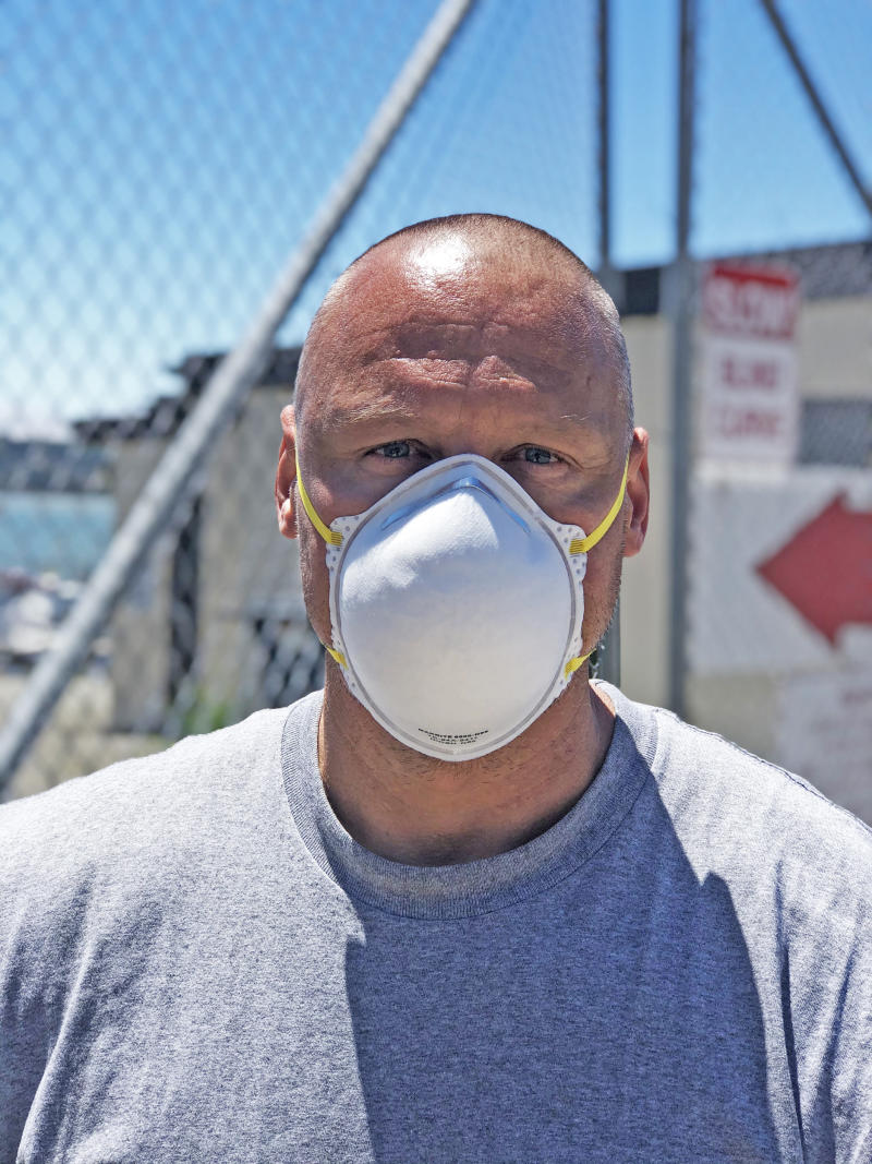 Frank Richardson, along with roughly 18 percent of the prison population, was released early to limit the spread of coronavirus at San Quentin State Prison. (Jacob Ward)