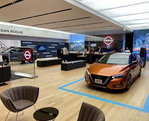 Designed by kubik, the Nissan Studio provides Canadians with an up-close look at Nissan's best-selling models