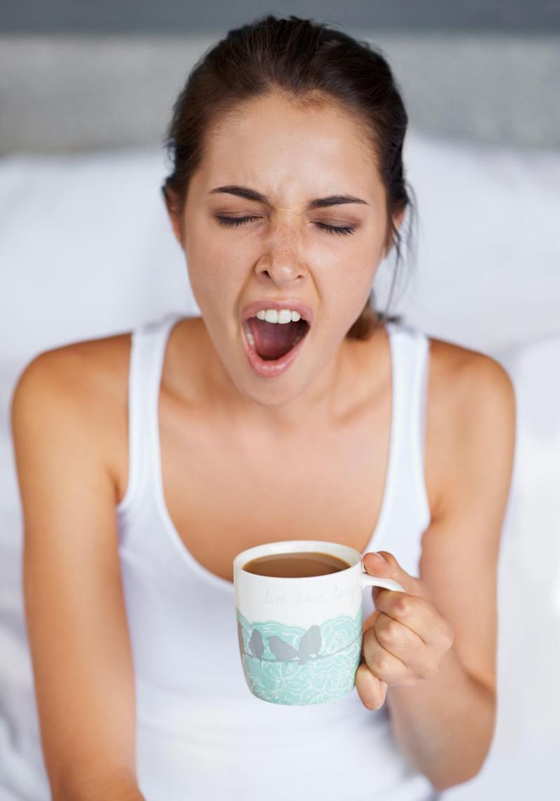 Forget coffee, there's something else sleep-deprived people should be sipping. Photo: Getty