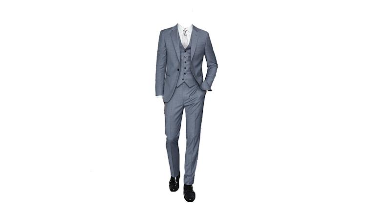 Climate Wool Modern Fit Three Piece Blazer, Waistcoat and Trousers