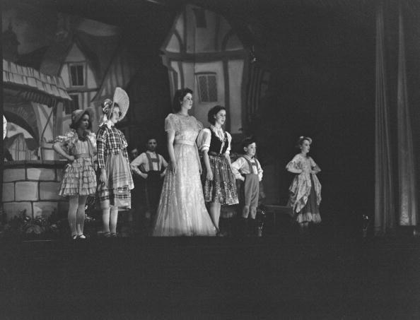 <p>The following year, Elizabeth and Margaret starred in a Christmas production of 'Old Mother Red Riding Boots' at Windsor Castle.</p>