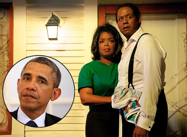 President Barack Obama, Oprah Winfrey in 'The Butler'