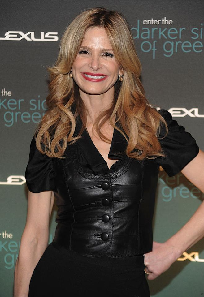 "On August 19, ""The Closer's"" Kyra Sedgwick blows out 45 candles. Dimitrios Kambouris/<a href=""http://www.wireimage.com"" target=""new"">WireImage.com</a> - March 30, 2010"