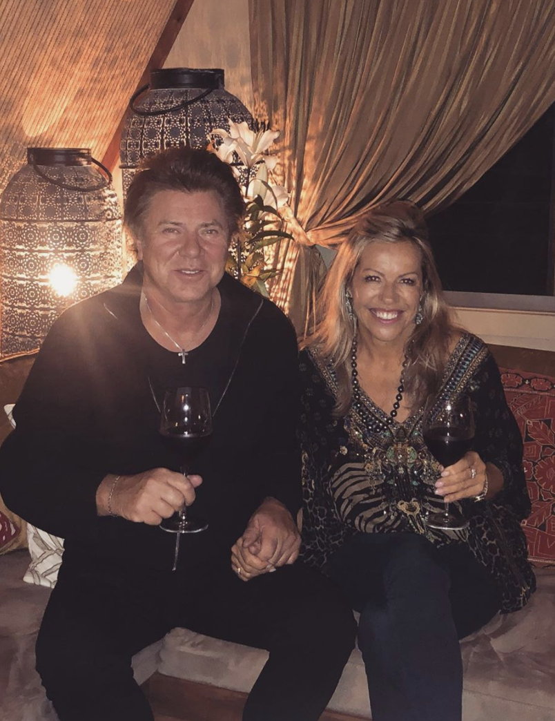 Richard Wilkins and his new girlfriend, Nicola Dale, made their relationship 'Instagram official' on Thursday. Photo: Instagram/richardwilkins.