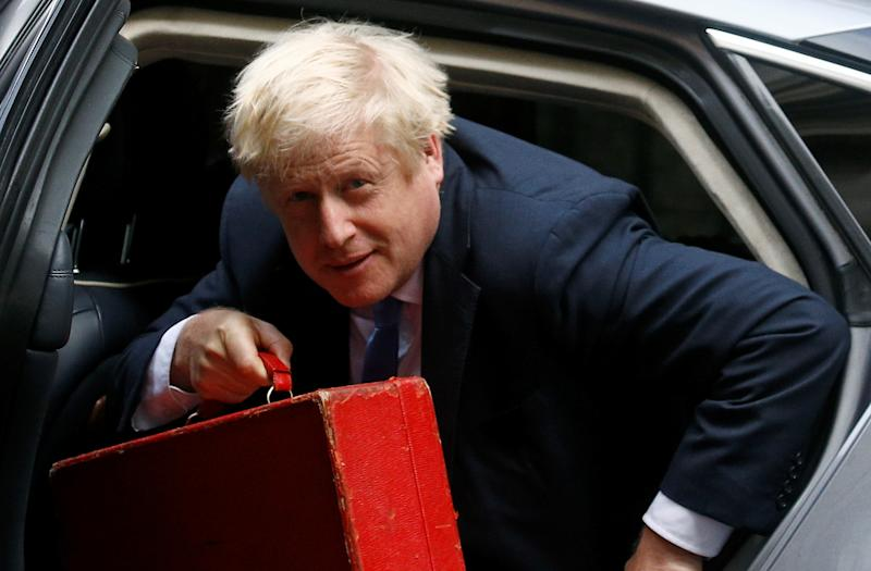 Britain's Prime Minister Boris Johnson is seen in Downing Street in London, Britain September 25, 2019. REUTERS/Henry Nicholls