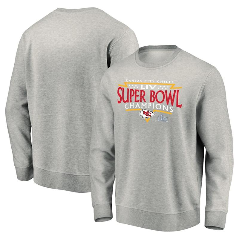 Super Bowl champion pullover