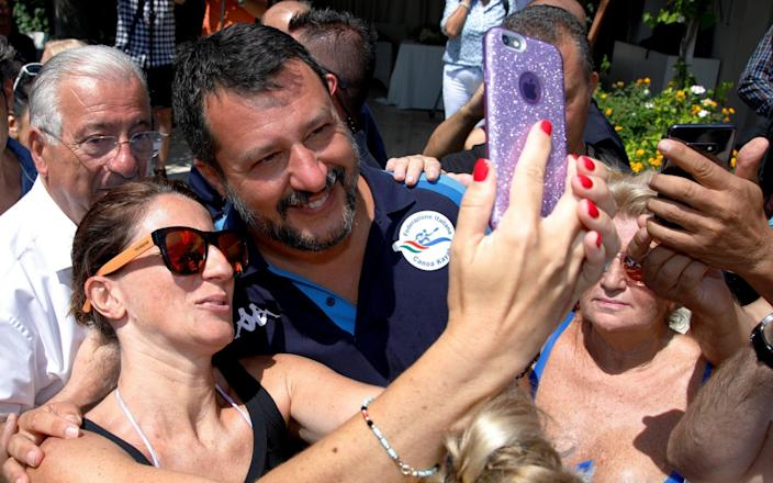 If Italy goes to a new election, it would likely benefit Matteo Salvini of The League and other parties on the Right - Reuters