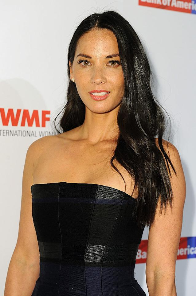 <p>Olivia Munn arrives at the International Women's Media Foundation Courage Awards at the Beverly Wilshire Four Seasons Hotel on Oct. 27, 2015 in Beverly Hills. (Photo: Joshua Blanchard/Getty Images) </p>