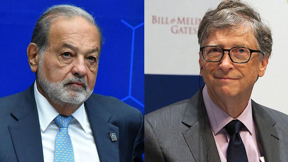 Carlos Slim e Bill Gates