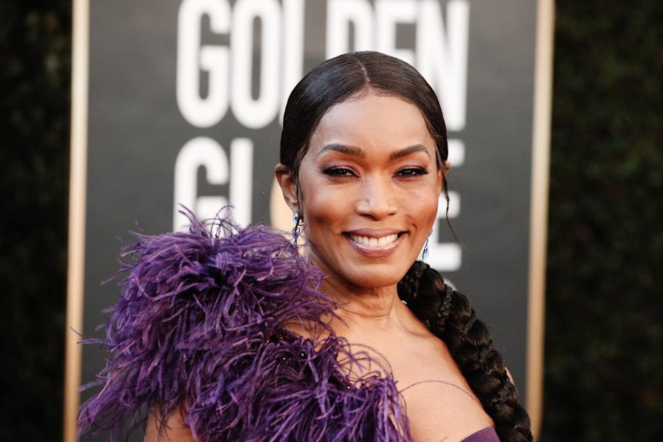 BEVERLY HILLS, CALIFORNIA: 78th Annual GOLDEN GLOBE AWARDS -- Pictured: Angela Bassett attends the 78th Annual Golden Globe Awards held at The Beverly Hilton and broadcast on February 28, 2021 in Beverly Hills, California. -- (Photo by Todd Williamson/NBC/NBCU Photo Bank via Getty Images)