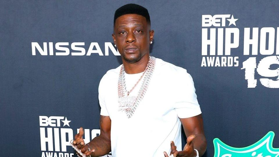 Boosie Badazz attends the BET Hip Hop Awards 2019 at Cobb Energy Center on October 05, 2019 in Atlanta, Georgia. (Photo by Bennett Raglin/Getty Images for BET)
