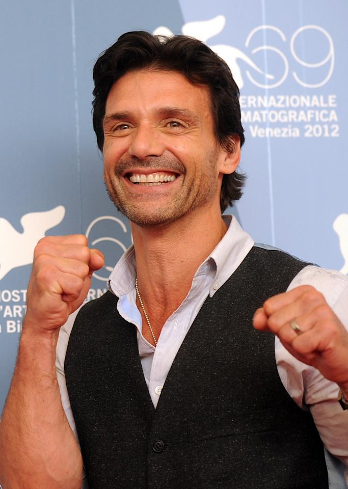 US actor Frank Grillo at the Venice FIlm Festival, September 2012