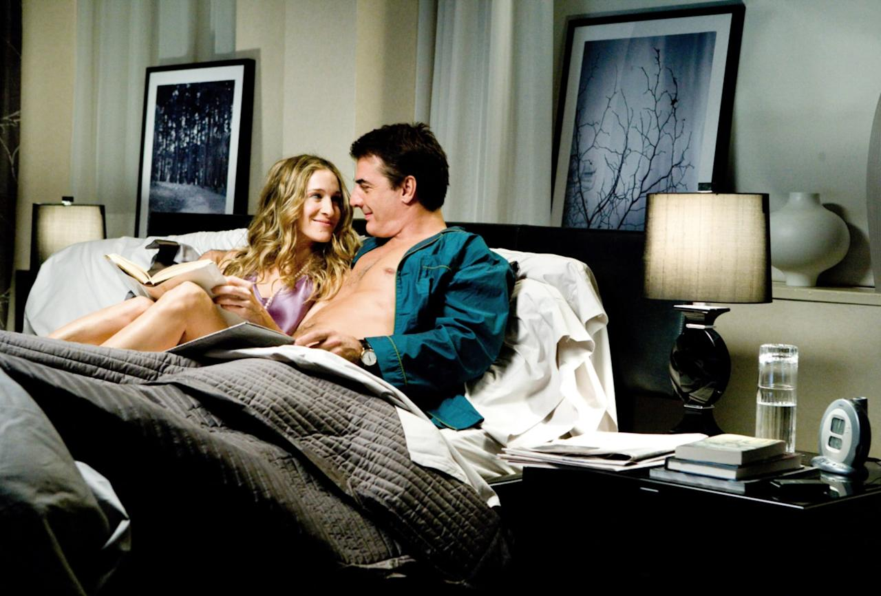 <p>The sexy foursome is back in <strong>Sex and the City: The Movie</strong>, and this time, they are all facing new relationships and obstacles in life (and in the sheets).</p> <p><strong>When it's available:</strong> Aug. 1</p>