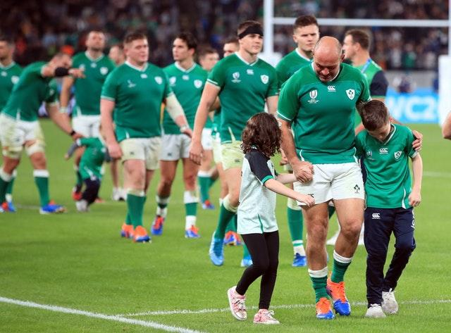 Rory Best called time on his Ireland career after 124 caps following Saturday's 46-14 World Cup quarter-final defeat to New Zealand (Adam Davy/PA)