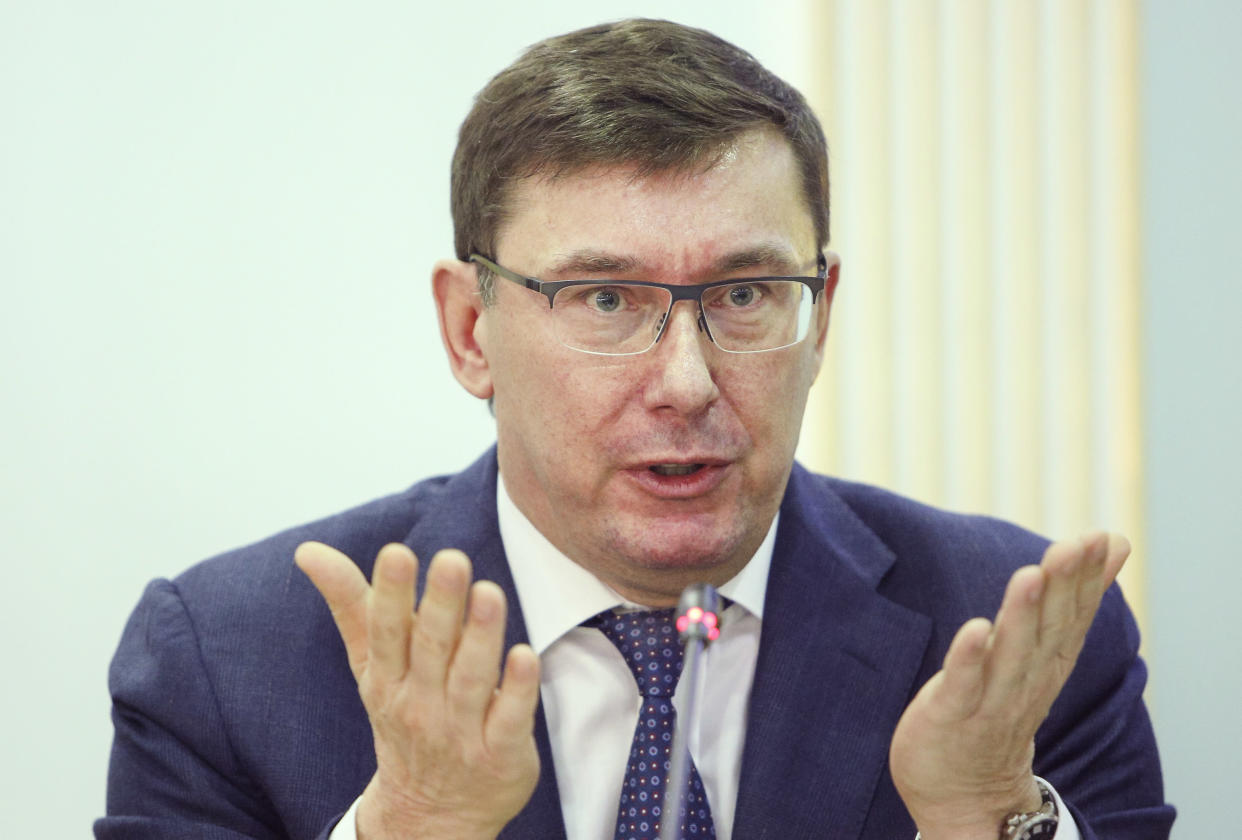 Yuri Lutsenko, former prosecutor general of Ukraine. (Photo: Sergii Kharchenko/NurPhoto via Getty Images)