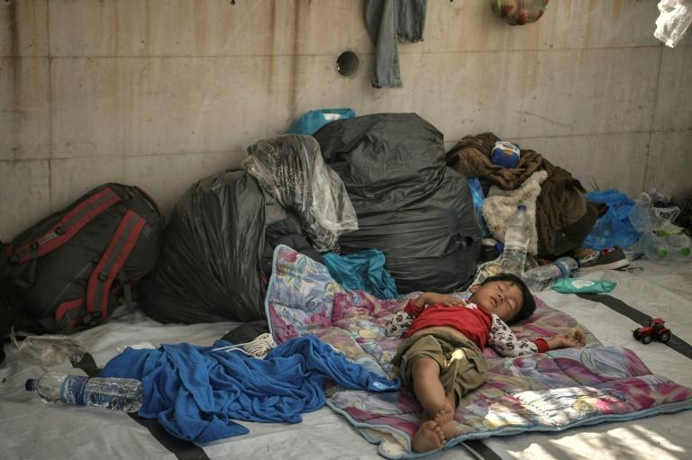 Lesbos on edge as locals and migrants live in fear