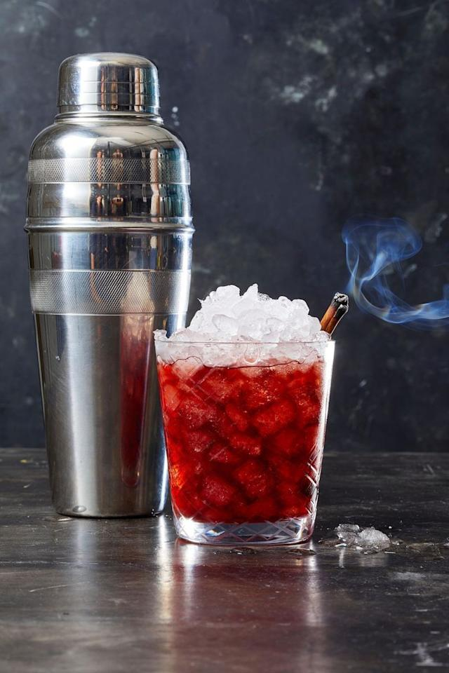 """<p>Shake up tart cherry juice with  fall spices for a flavor-packed sip.</p><p><em><a href=""""https://www.goodhousekeeping.com/food-recipes/a28552706/cherry-crush-recipe/"""" target=""""_blank"""">Get the recipe or Cherry Crush » </a></em></p>"""