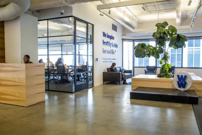 WW's new office space in San Francisco's SoMa neighborhood.